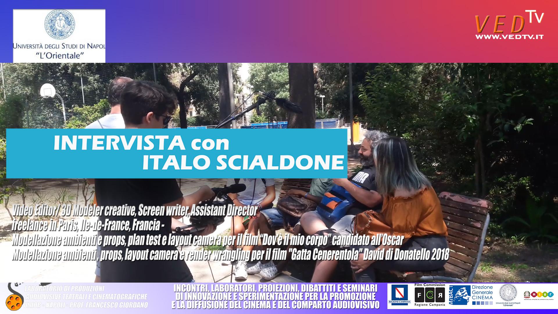 INTERVISTA SCIALDONE