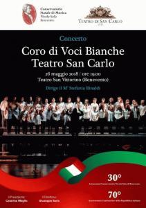 Coro di voci bianche a Benevento