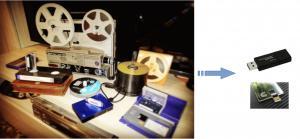RIVERSAMENTI VIDEO/AUDIO - Digitalizzazione Videocassette e pellicole Super 8