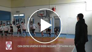 VED Tv Sport – Volley:   Il video : CSDN CENTRO SPORTIVO D'OVIDIO NICOLARDI - OTTAVIMA VOLLEY 3 - 0